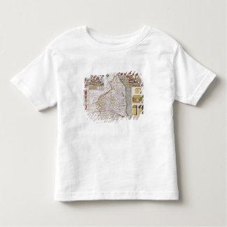 Northumberland, engraved by Jodocus Hondius T-shirt