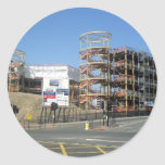 Northumbria University - City Campus East Round Sticker