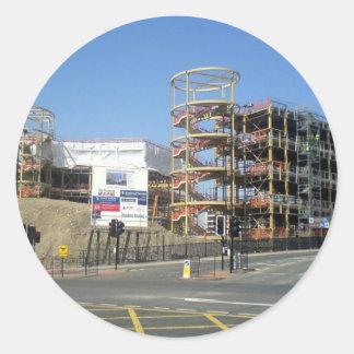 Northumbria University - City Campus East Round Sticker