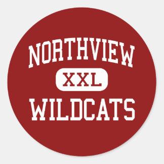 Northview - Wildcats - High - Grand Rapids Classic Round Sticker