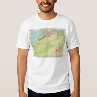 Northwest Africa with shipping routes T-Shirt