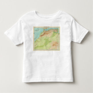 Northwest Africa with shipping routes Toddler T-shirt
