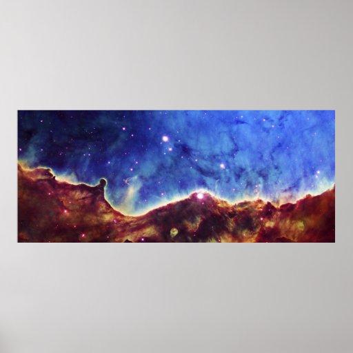 Northwest Corner of the Carina Nebula NGC 3324 Poster