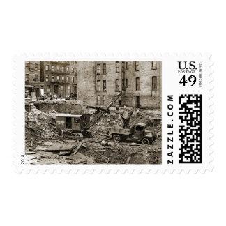 Northwest Crane and Shovel Contrsuction Tank Trac Postage