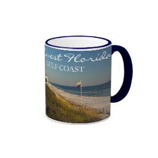 Northwest Florida Gulf Coast Ringer Mug