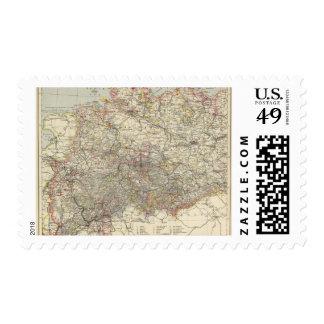 Northwest German Empire Stamp