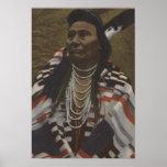 Northwest Indians - Chief Joseph of the Nez Poster