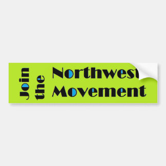 Northwest Movement Bumper Sticker