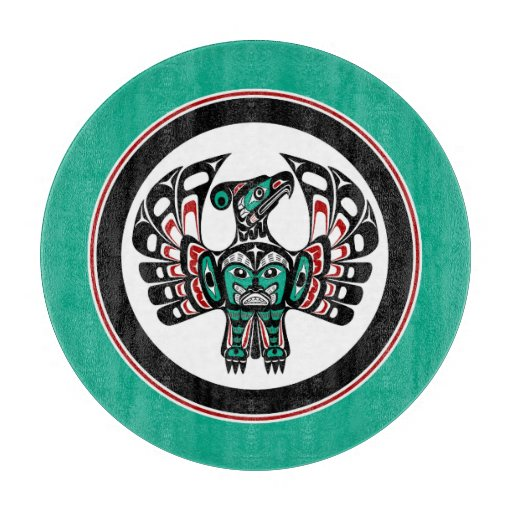 Northwest Pacific coast Haida art Thunderbird Cutting Boards