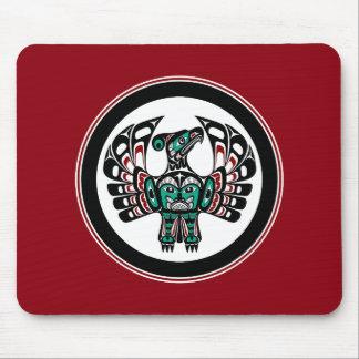 Northwest Pacific coast Haida art Thunderbird Mouse Pad