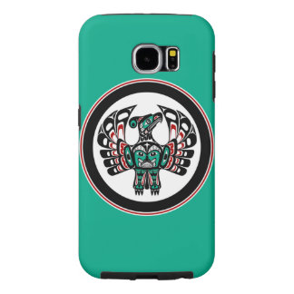 Northwest Pacific coast Haida art Thunderbird Samsung Galaxy S6 Case
