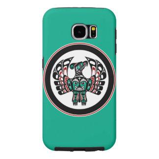 Northwest Pacific coast Haida art Thunderbird Samsung Galaxy S6 Case