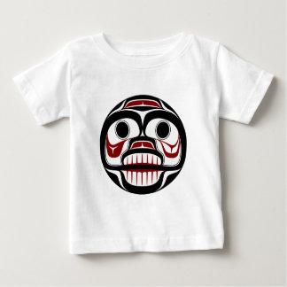 Northwest Pacific coast Haida Weeping skull Baby T-Shirt