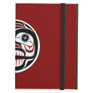 Northwest Pacific coast Haida Weeping skull iPad Air Cover