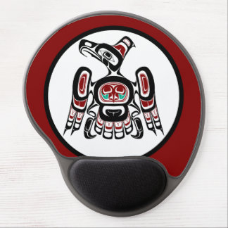 Northwest Pacific coast Kaigani Thunderbird Gel Mouse Pad