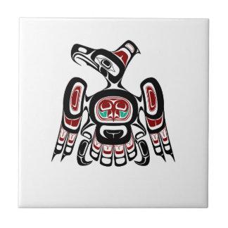 Northwest Pacific coast Kaigani Thunderbird Tile