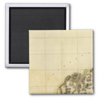 Northwest Perthshire 2 Inch Square Magnet