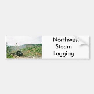 Northwest Steam Logging Bumper-sticker Bumper Sticker