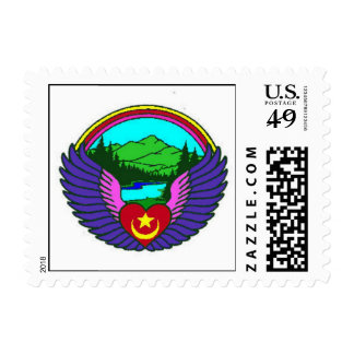 Northwest Sufi Camp postage stamp