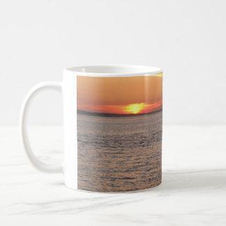 Northwest Sunset - Power Boat Classic White Coffee Mug
