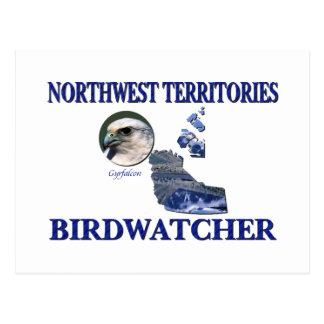 Northwest Territories Birdwatcher Postcard
