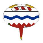Northwest Territories (Canada) Coat of Arms Cake Picks