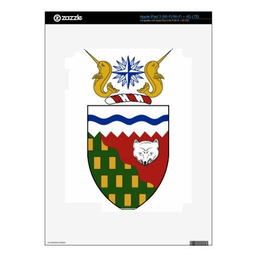 Northwest Territories (Canada) Coat of Arms Skin For iPad 3