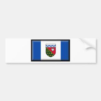 Northwest Territories (Canada) Flag Bumper Sticker