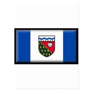 Northwest Territories (Canada) Flag Postcard