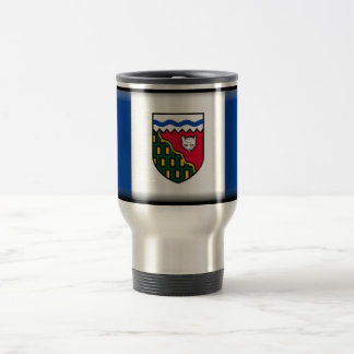 Northwest Territories (Canada) Flag Travel Mug