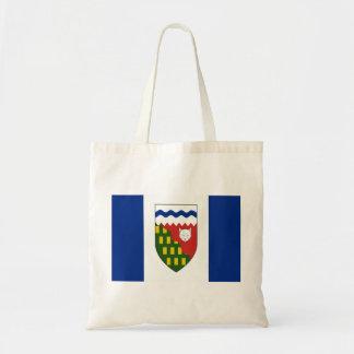 Northwest Territories Flag Tote Bags