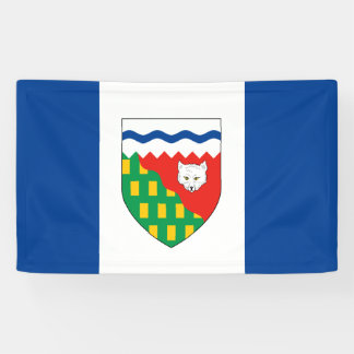 NORTHWEST TERRITORIES Flag Banner