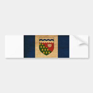 Northwest Territories Flag Bumper Sticker