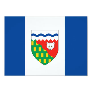 NORTHWEST TERRITORIES Flag Card