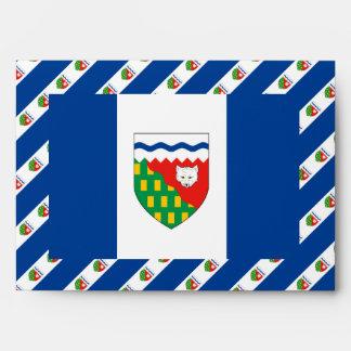 NORTHWEST TERRITORIES Flag Envelopes