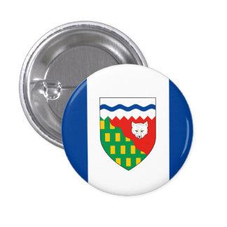 NORTHWEST TERRITORIES Flag Pinback Button