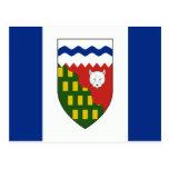 Northwest Territories Flag Post Cards