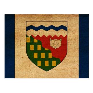 Northwest Territories Flag Postcard