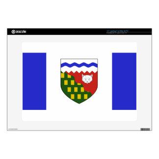 Northwest Territories Flag Skins For Laptops