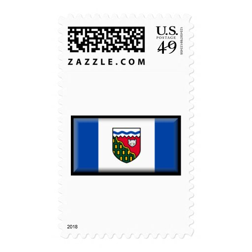Northwest Territories Flag Stamp