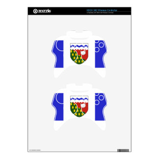 Northwest Territories Flag Xbox 360 Controller Skins