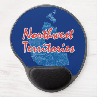 Northwest Territories Gel Mouse Pad