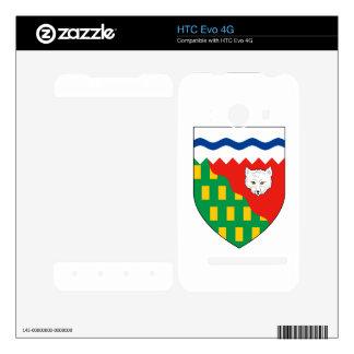 NORTHWEST TERRITORIES DECALS FOR HTC EVO 4G