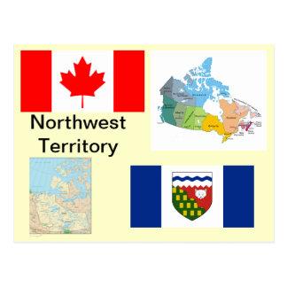 Northwest Territory Canada Postcard