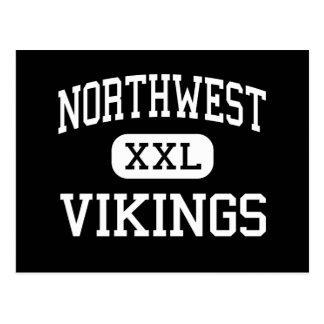 Northwest - Vikings - High - Grand Island Nebraska Post Card