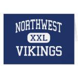 Northwest Vikings Middle Reading Card