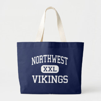 Northwest Vikings Middle Reading Large Tote Bag