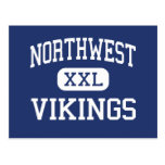 Northwest Vikings Middle Reading Postcard