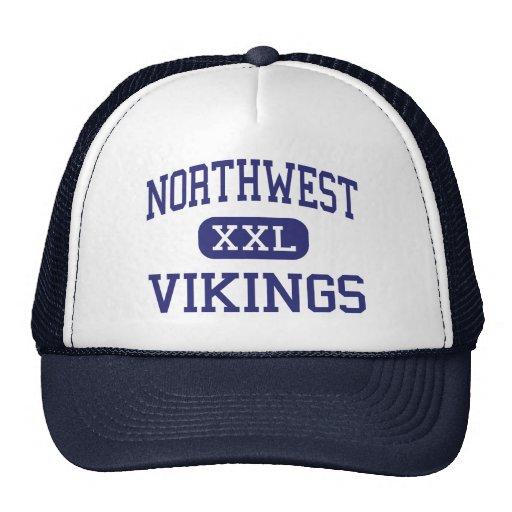 Northwest Vikings Middle Reading Trucker Hat