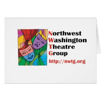 Northwest Washington Theatre Group Greeting Card